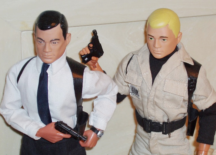 GI Joe Napoleon Solo and Illya Kuryakin-Gun and Holster by Brad Ferguson