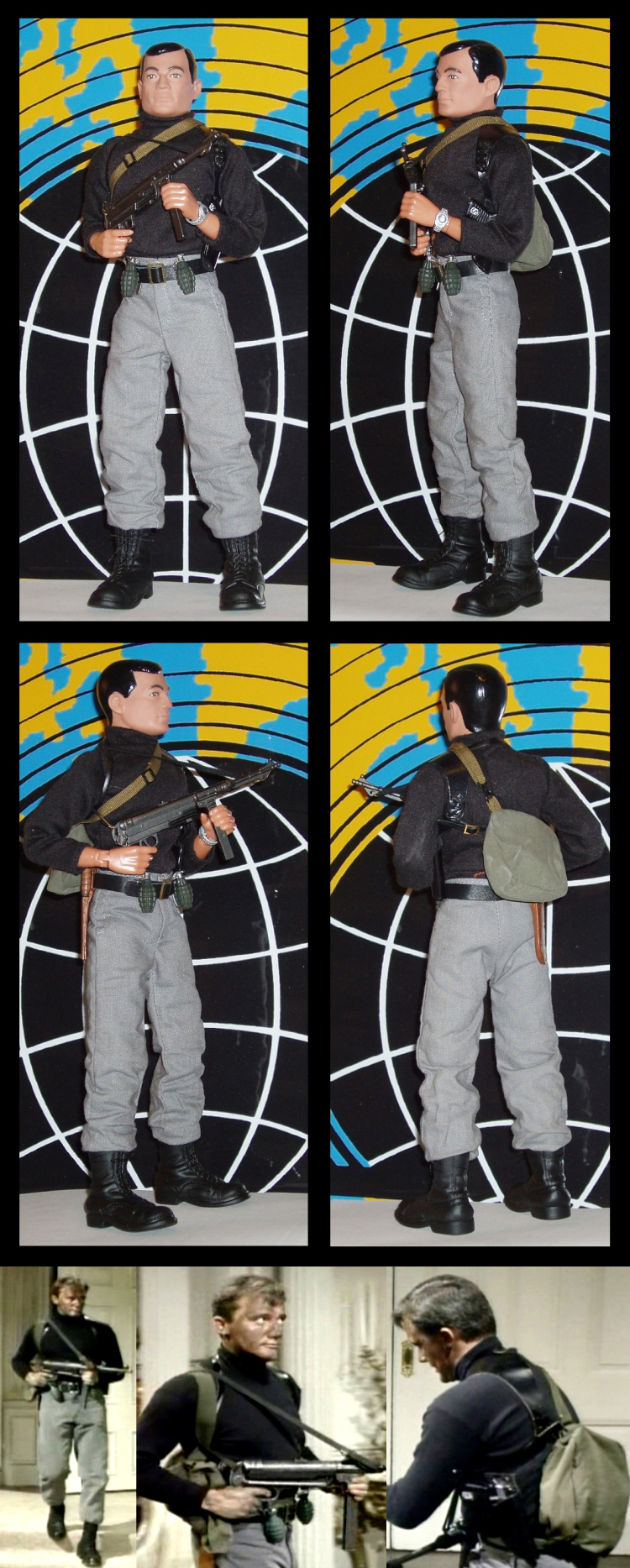 GI Joe Napoleon Solo- Gun and Holster by Brad Ferguson