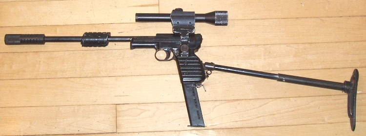 Original Mauser U.N.C.L.E. Carbine With Silencer