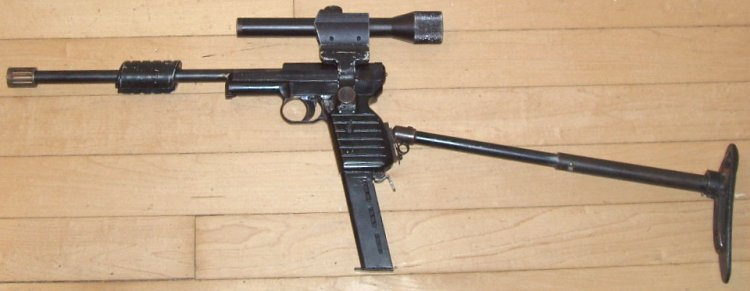 Original Mauser U.N.C.L.E. Carbine With Flash Hider